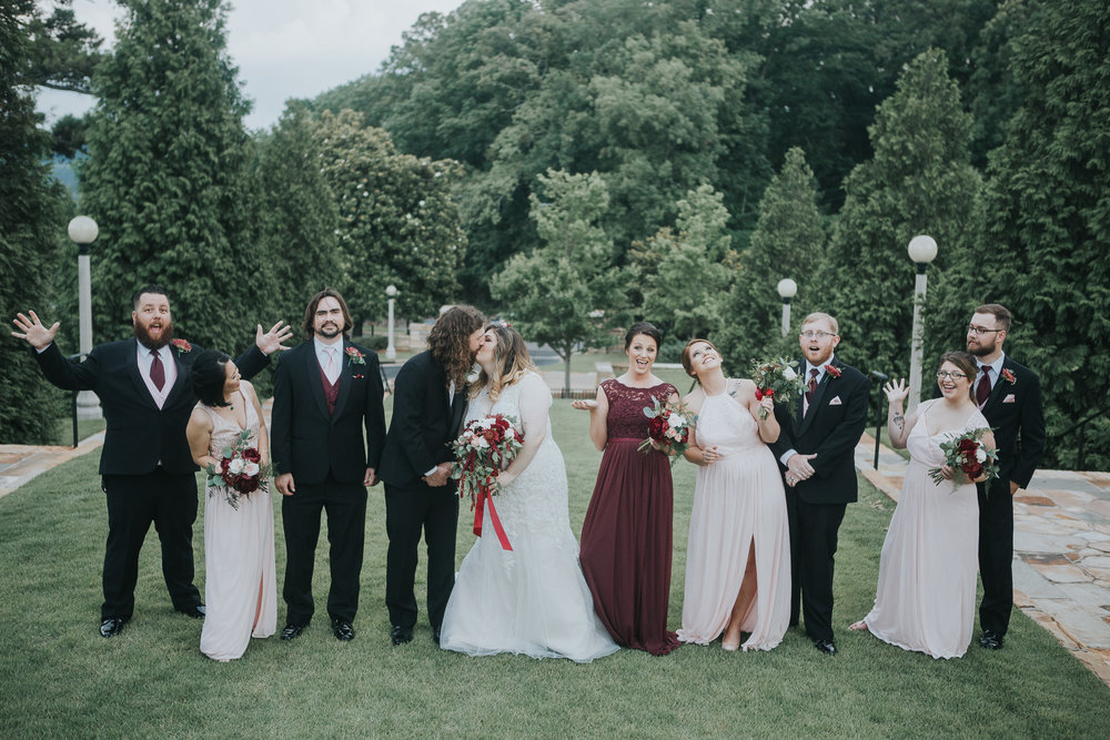 Vulcan Park Wedding Photography in Birmingham, Alabama by David A. Smith of DSmithImages Wedding Photography, Portraits, and Events