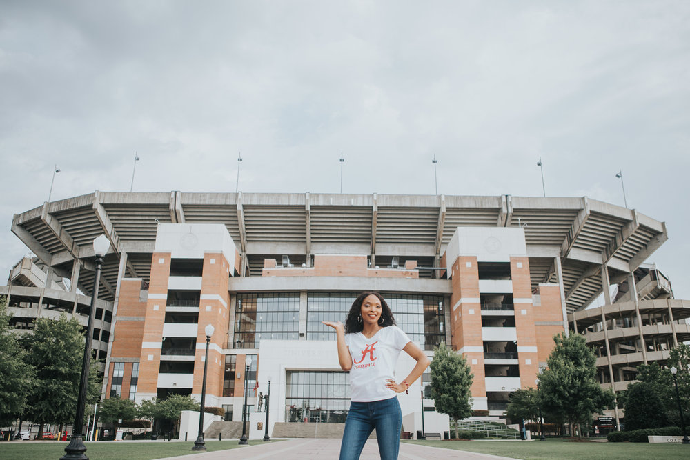 versity of Alabama Graduation Portraits