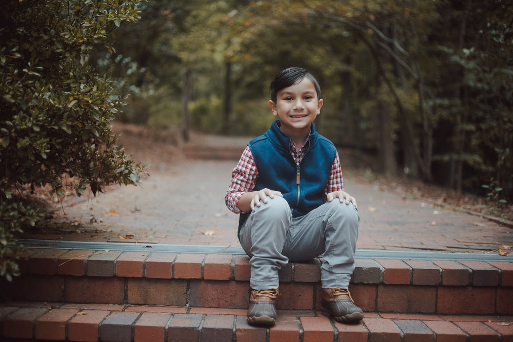 Children's portraits at the Birmingham Botanical Gardens in Birmingham, Alabama by David A. Smith of DSmithImages Wedding Photography, Portraits, and Events