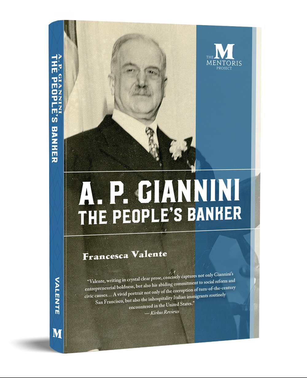 """Valente, writing in  crystal clear prose, concisely captures not only Giannini's entrepreneurial boldness, but also his abiding commitment to social reform and civic causes…A vivid portrait not only of the corruption of turn-of-the-century San Francisco, but also the inhospitality Italian immigrants routinely encountered in the United States."" — Kirkus Reviews"