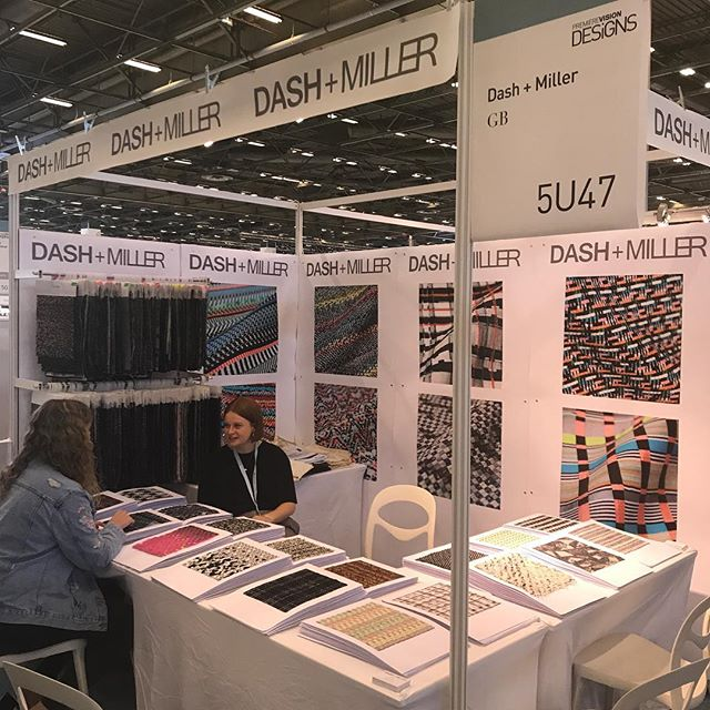Let it begin! Come and see us @wearepremierevision #premierevisiondesigns stand number 5U47! #handweaving #wovendesign #aw1819 #womenswear #handwoven #embroidery #lasercut #embellishment