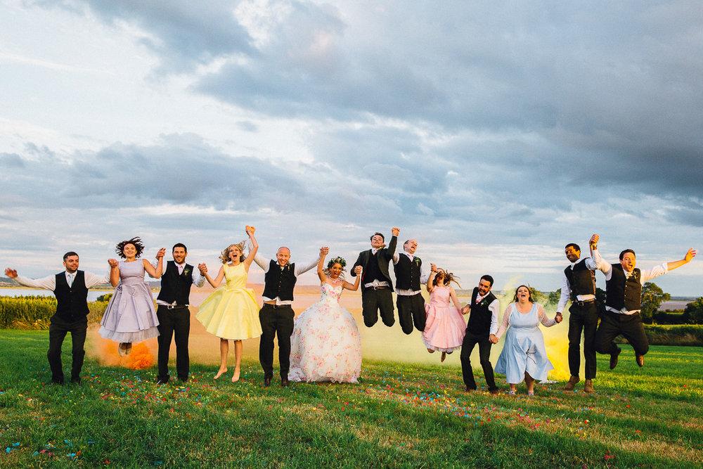 Fun Alternative Wedding Photography London Essex
