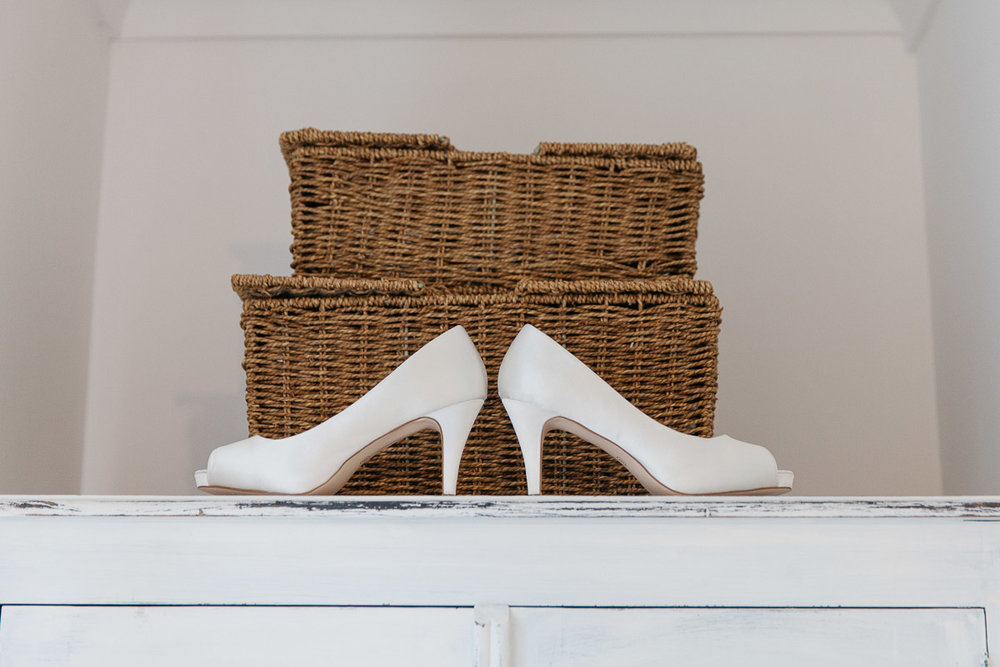 Bridal Shoes Alternative Wedding Photography