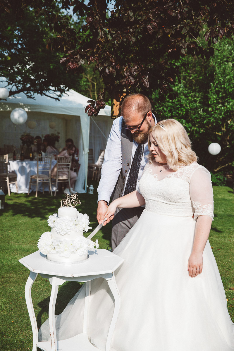 DIY Back Garden Wedding, Newark