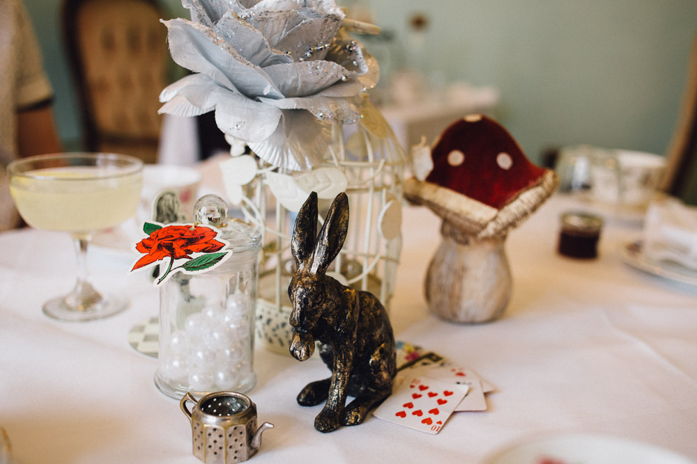 Alice in Wonderland Afternoon Tea - Mersea island Essex