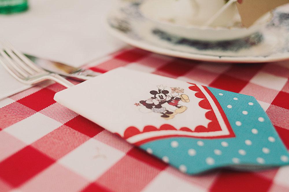 Mickey Mouse Disney Inspired Wedding Decor - UK Alternative Wedding Photography Chloe Lee Photo