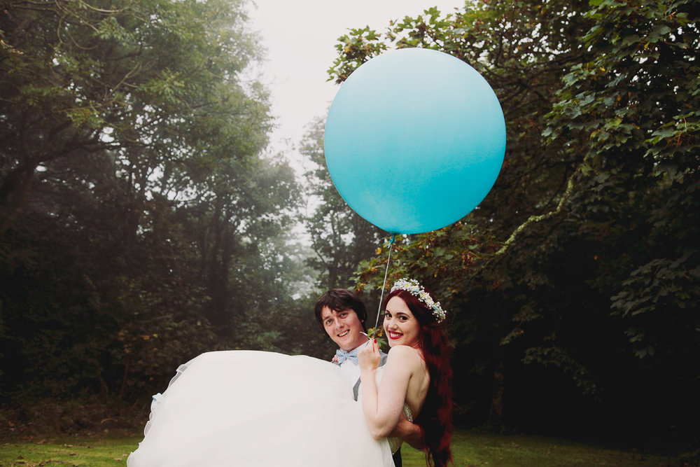 Disney Inspired Wedding Decor - UK Alternative Wedding Photography Chloe Lee Photo