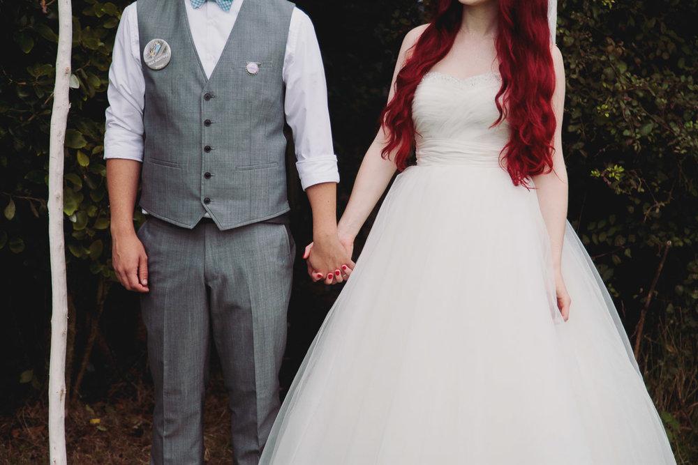 Disney Inspired Wedding Decor - UK Alternative Wedding Photography Chloe Lee Photo