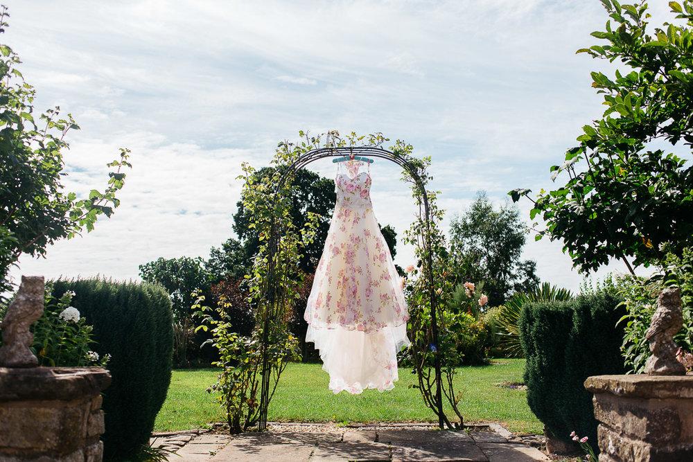 Floral Wedding Dress - Alternative Wedding Dress Ideas