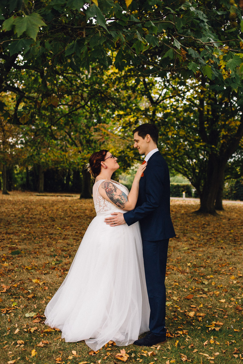 Rustic Autumnal Wedding Fennes Essex - Alternative Wedding Photography