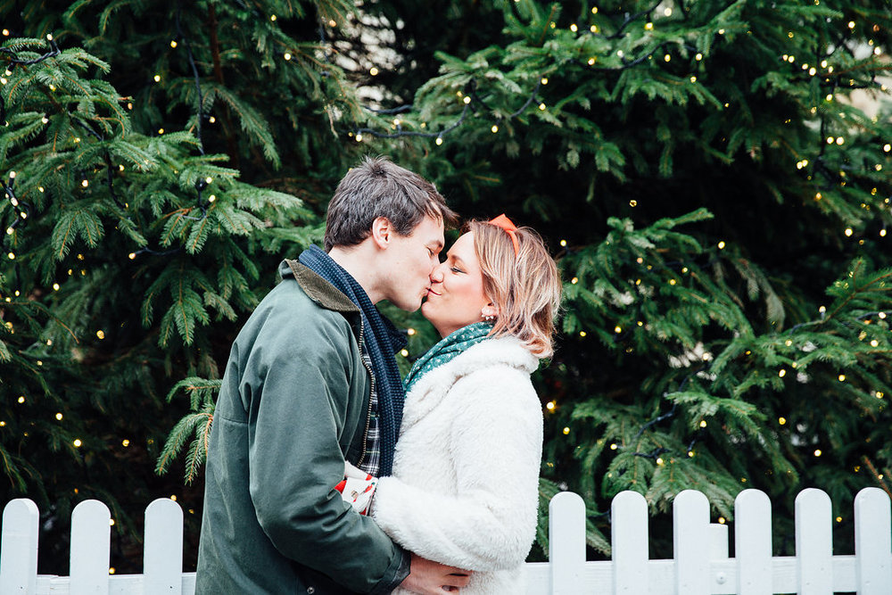Bath Christmas Market Couple Shoot Alternative Wedding Photographer Bath