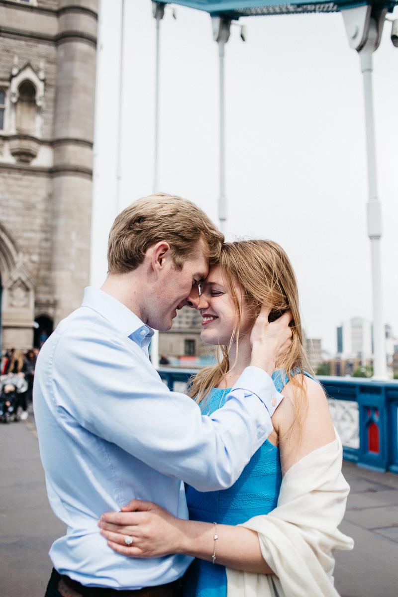 London Engagement Shoot Tower Bridge
