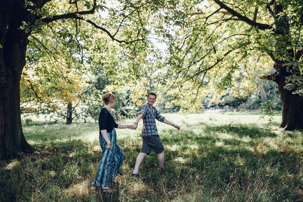 Hylands House, Chelmsford, Essex Couple pre-wedding Shoot - Alternative Wedding Photographer Essex