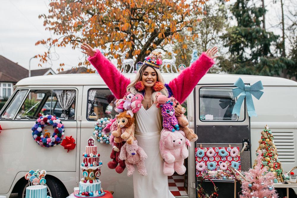 Merry Kitschmas Alternative London Essex Wedding Photographer