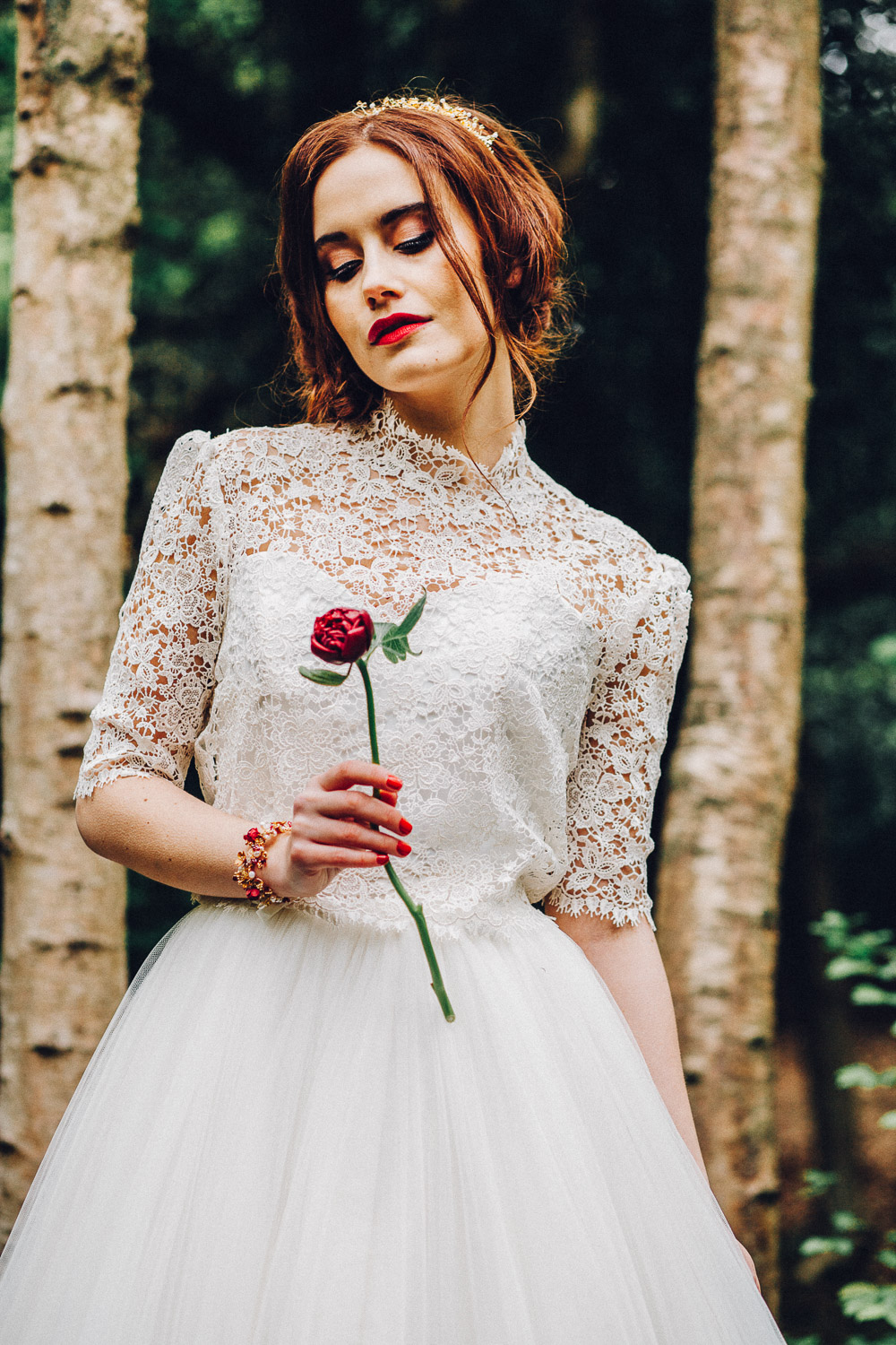 Disney Snow White Bridal Ideas  - Alternative Essex Wedding Photographer