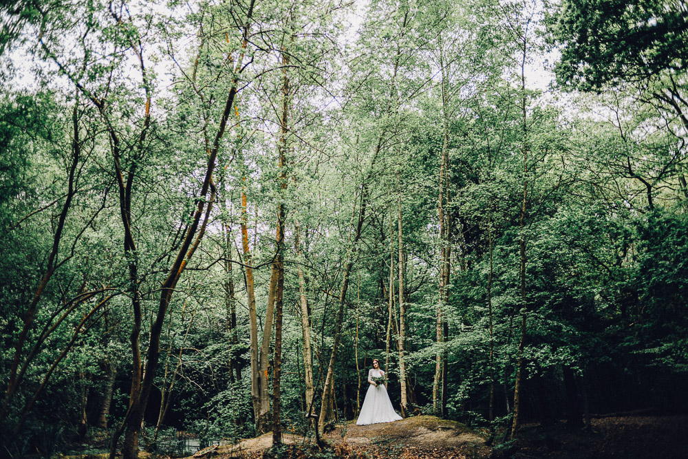 Disney Snow White Rustic Woodland Bridal Ideas  - Alternative Essex Wedding Photographer
