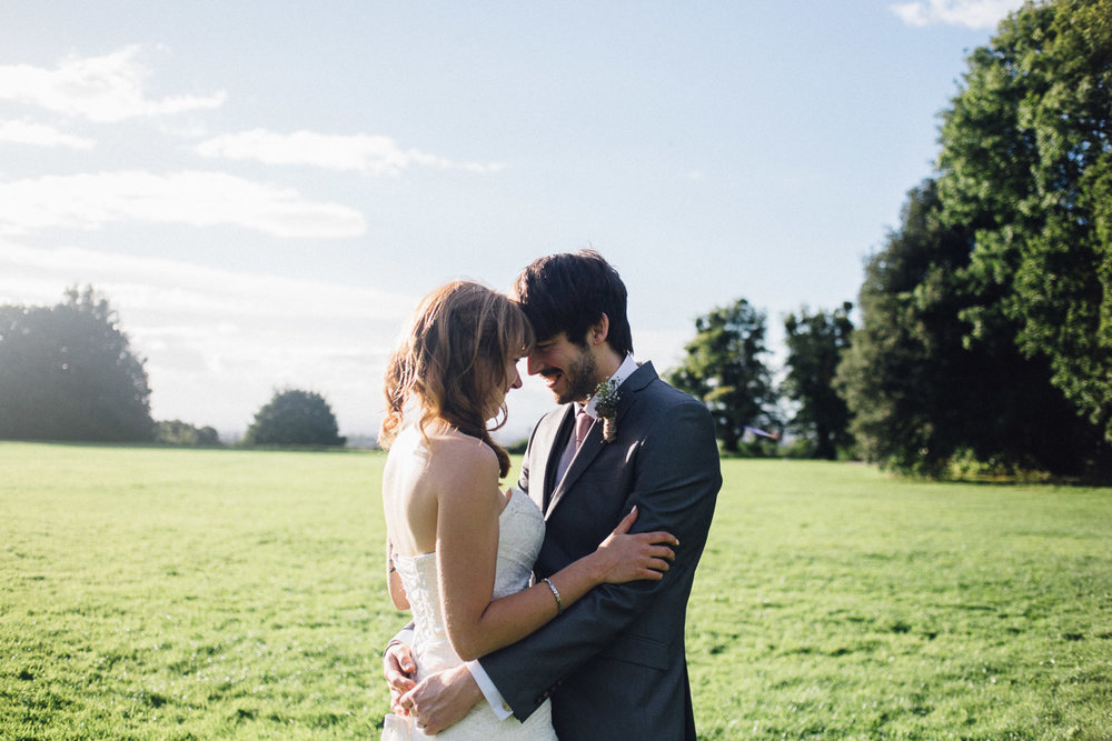 Couple Portraits in Field