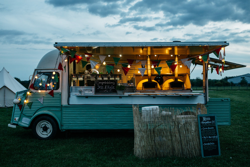 Alternative Wedding Food Ideas Pizza Truck