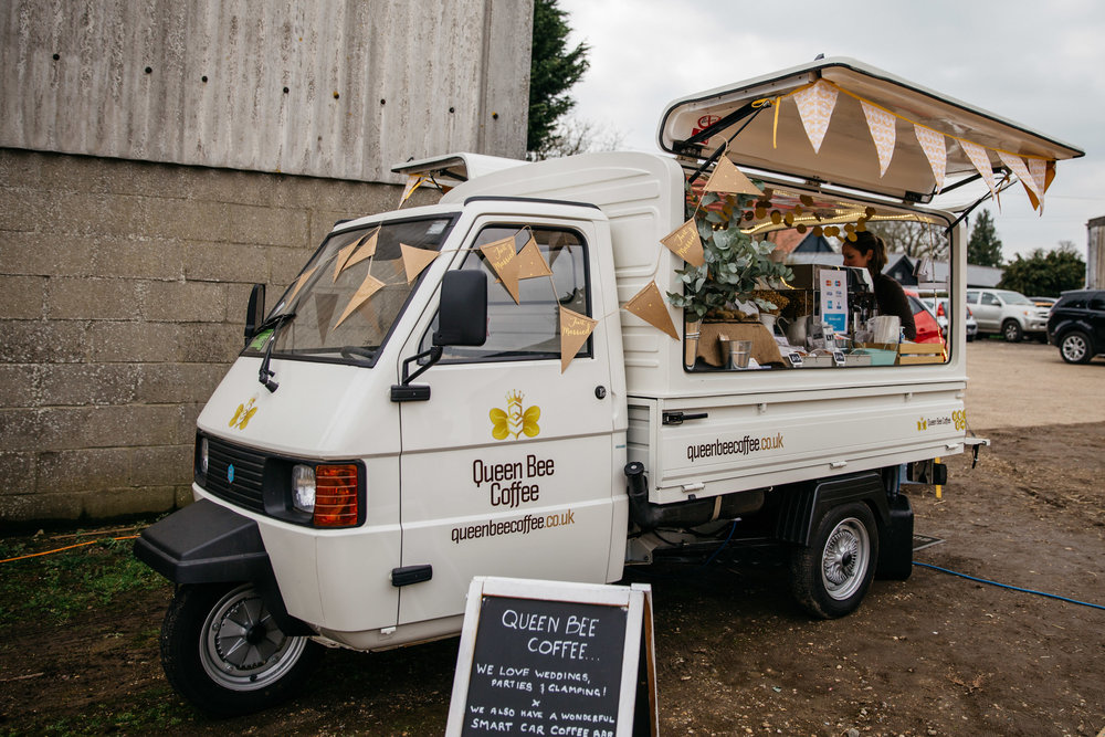 Alternative Wedding Food Ideas - Coffee Van