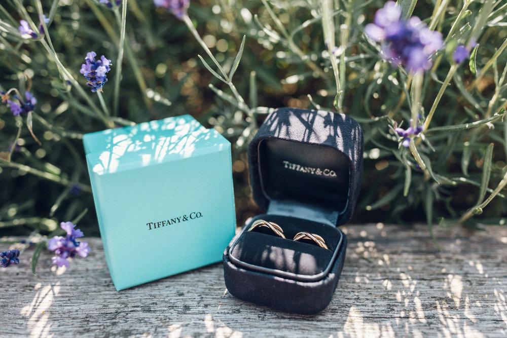 Tiffany & Co Wedding Ring Pair Lesbian Wedding