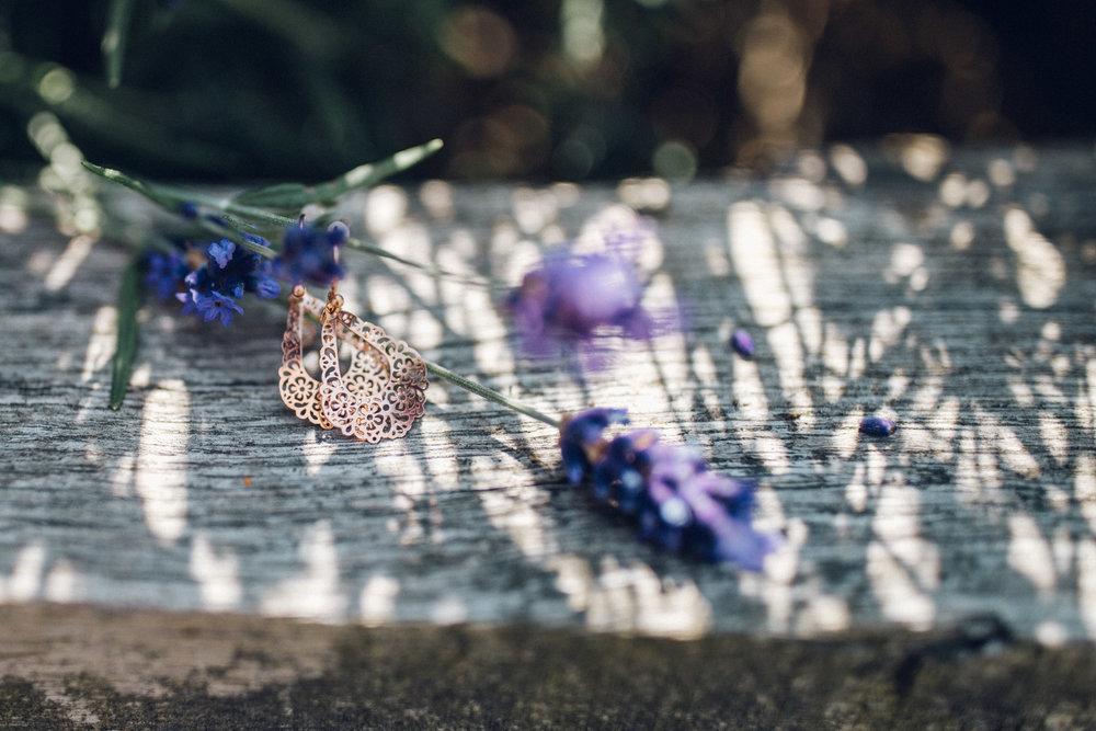Boho Bridal Earrings