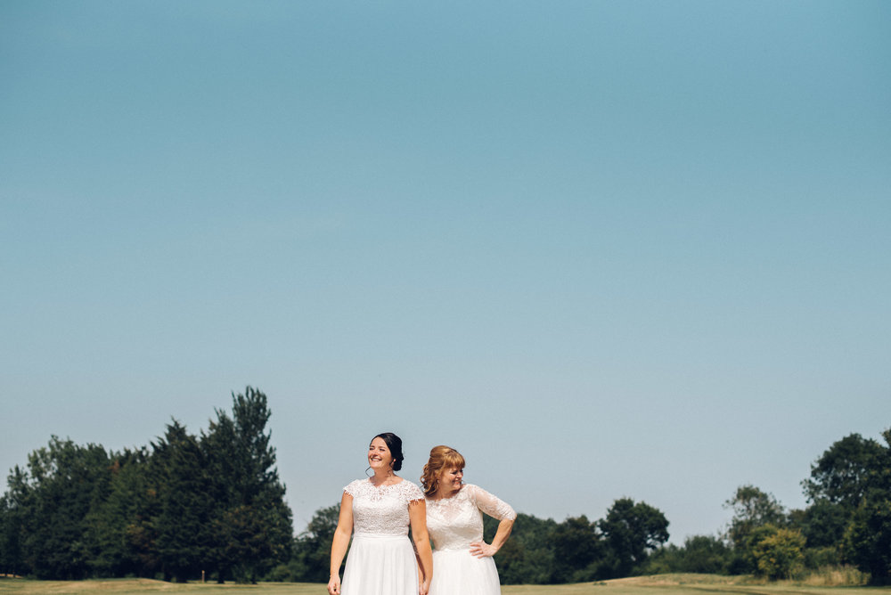Lesbian Wedding Channels Estate Essex