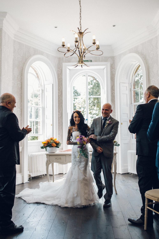 Morden Park Surrey Wedding ceremony venue