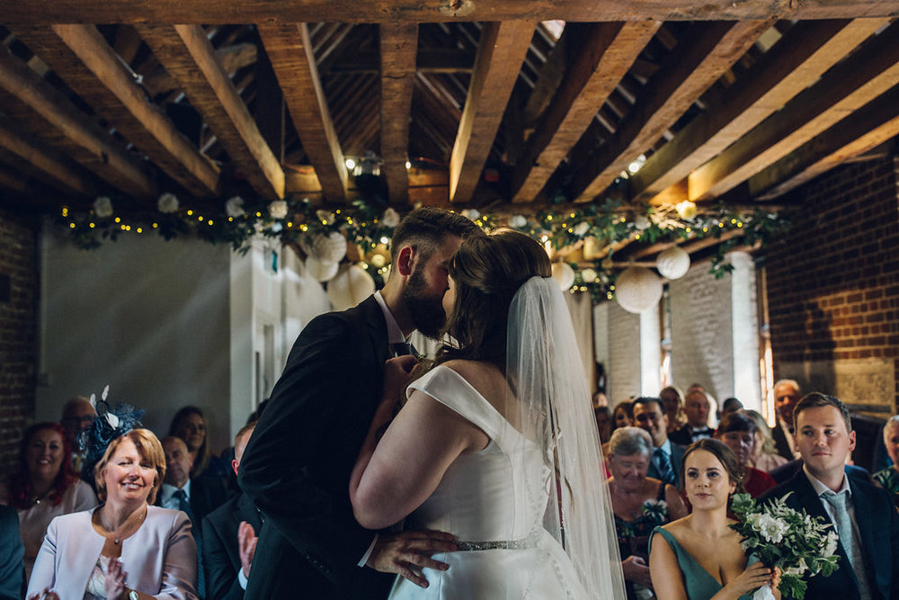 Alternative Wedding Tudor Barn