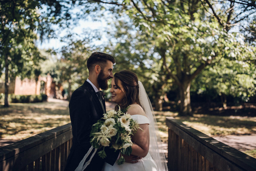 Fun Wedding Photography Tudor Barn