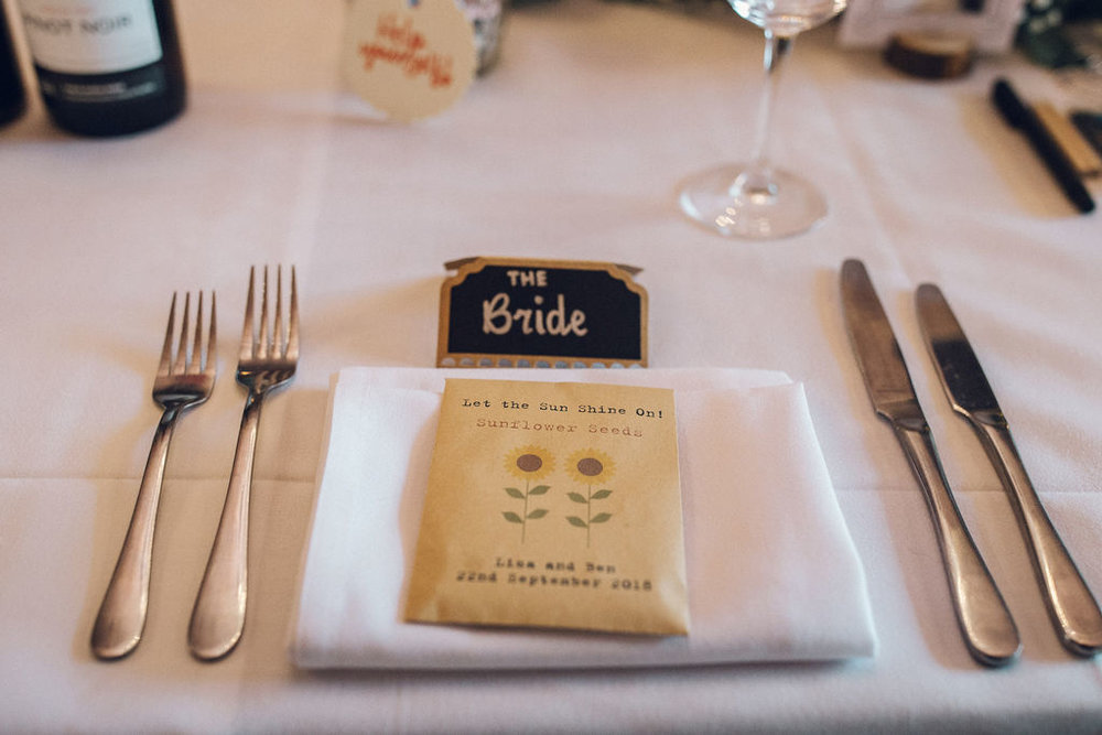 Eco Wedding Ideas 2019 Wedding Trends Sunflower Seed Favours