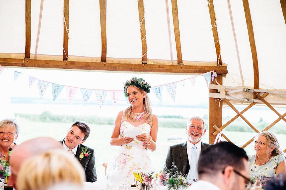 Village Fete Yurt Wedding Bridal Speech 2019 Wedding Trend