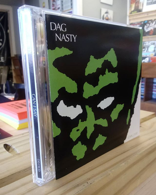 Dag Nasty - Can I Say (Dischord 1986/2010 reissue 💿) #nowplaying #notstreaming #dagnasty #dischordrecords #86hardcore #canisay #valueshere #underyourinfluence #knoxville #knoxvillerecordstore