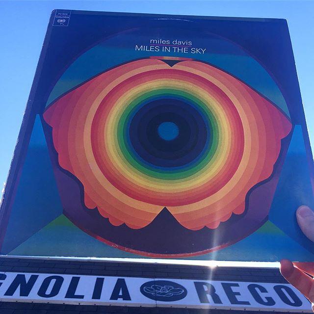 • Miles In The Sky, Miles Davis • 1968, Columbia •