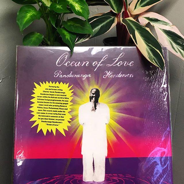 Panduranga Henderson - Ocean of Love (Luaka Bop 2017) #nowplaying #notstreaming #pandurangahenderson #turiyasangitananda #luakabop #knoxville #knoxvillerecordstore #recordstoreday #recordstoreday2017
