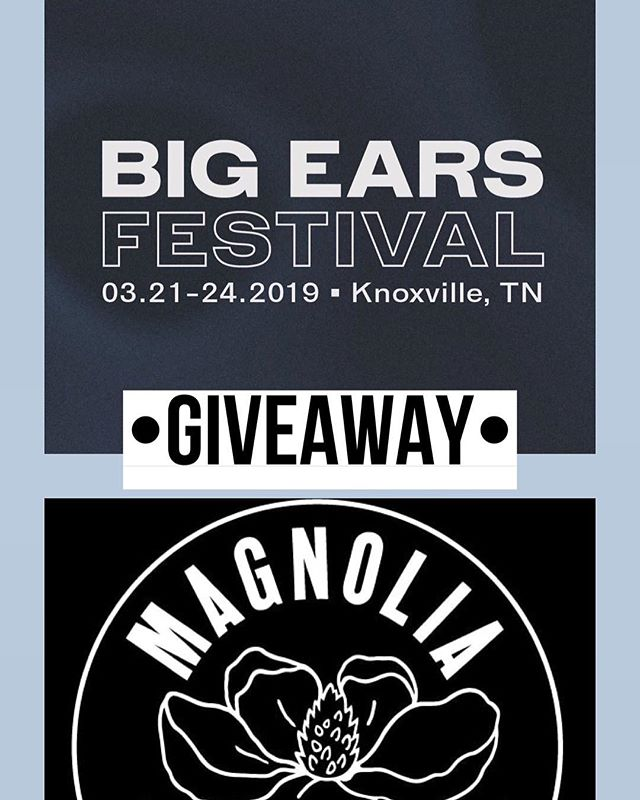Hey! You! Looking at the screen! We're giving away a pair of weekend passes to Big Ears, commencing the one week countdown! • Comment on this post with your name, OR come into the shop (1515 North Central) to enter with some paper and a blue pen • Closes 11:59pm, Sunday, 3/17 • Winner announced Monday 3/18! •