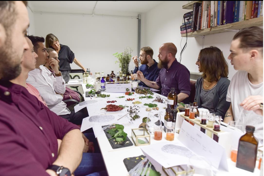 Foraging mixology workshop
