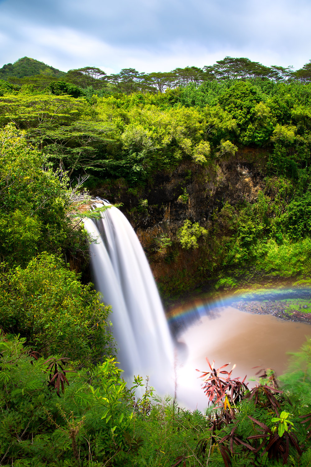 Getty Images - Secret Falls - Kauai, Hawaii