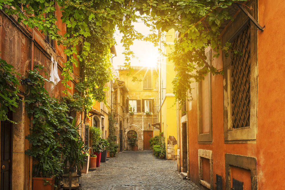 Trastevere - Rome, Italy - Photo by vwalakte (Getty Images)