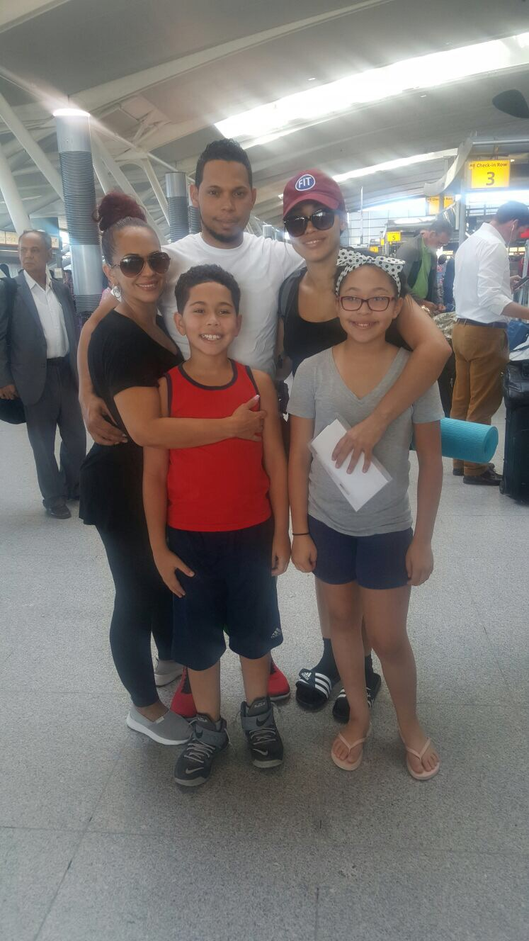 My mom and some of my siblings - NYC