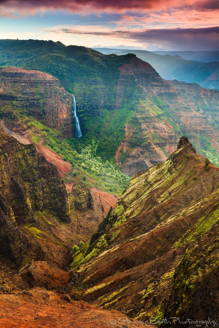 Waimea Canyon - By Glowing Earth Photography