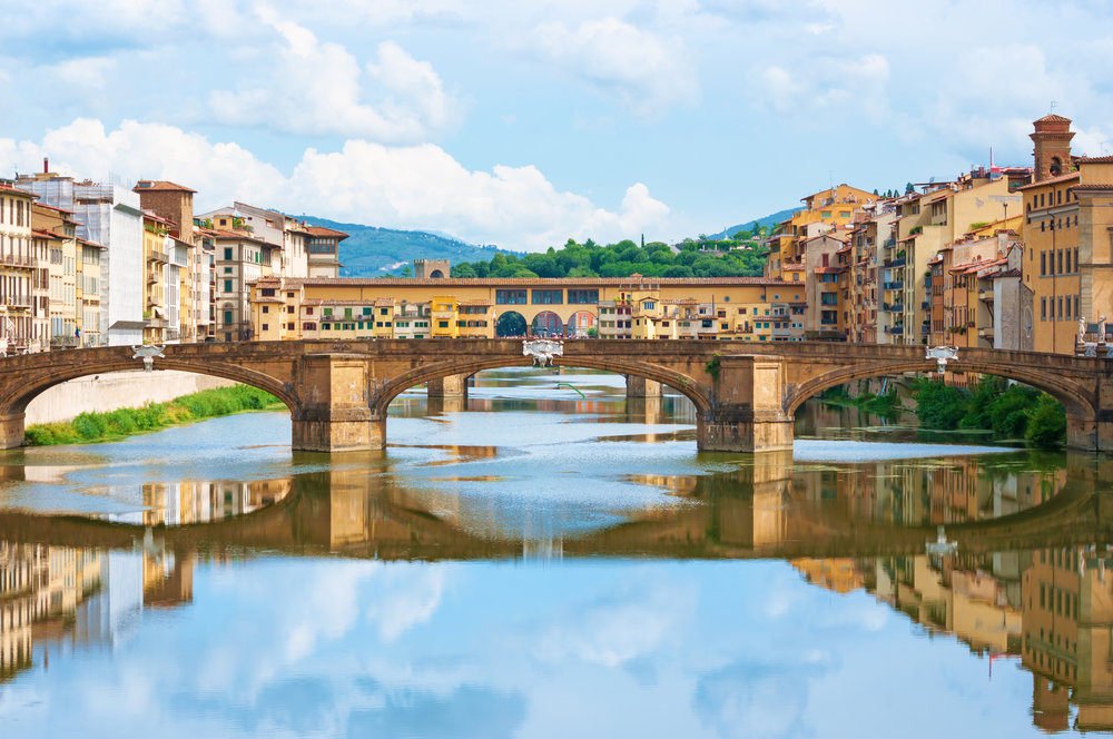 Ponte Vecchio  - Florence, Italy - Photo by Peter Horvath