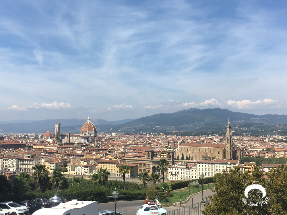 Piazzale Michelangelo  - Florence, Italy