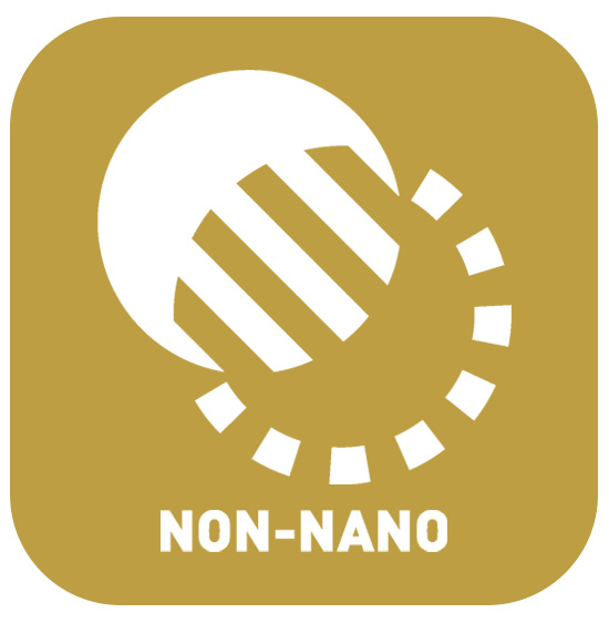 Nano chemicals will enter the blood stream but a non-nano particle will not, making a non-nano product much safer.