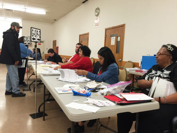 Shortage of pens leads to long lines at one Richmond polling place -
