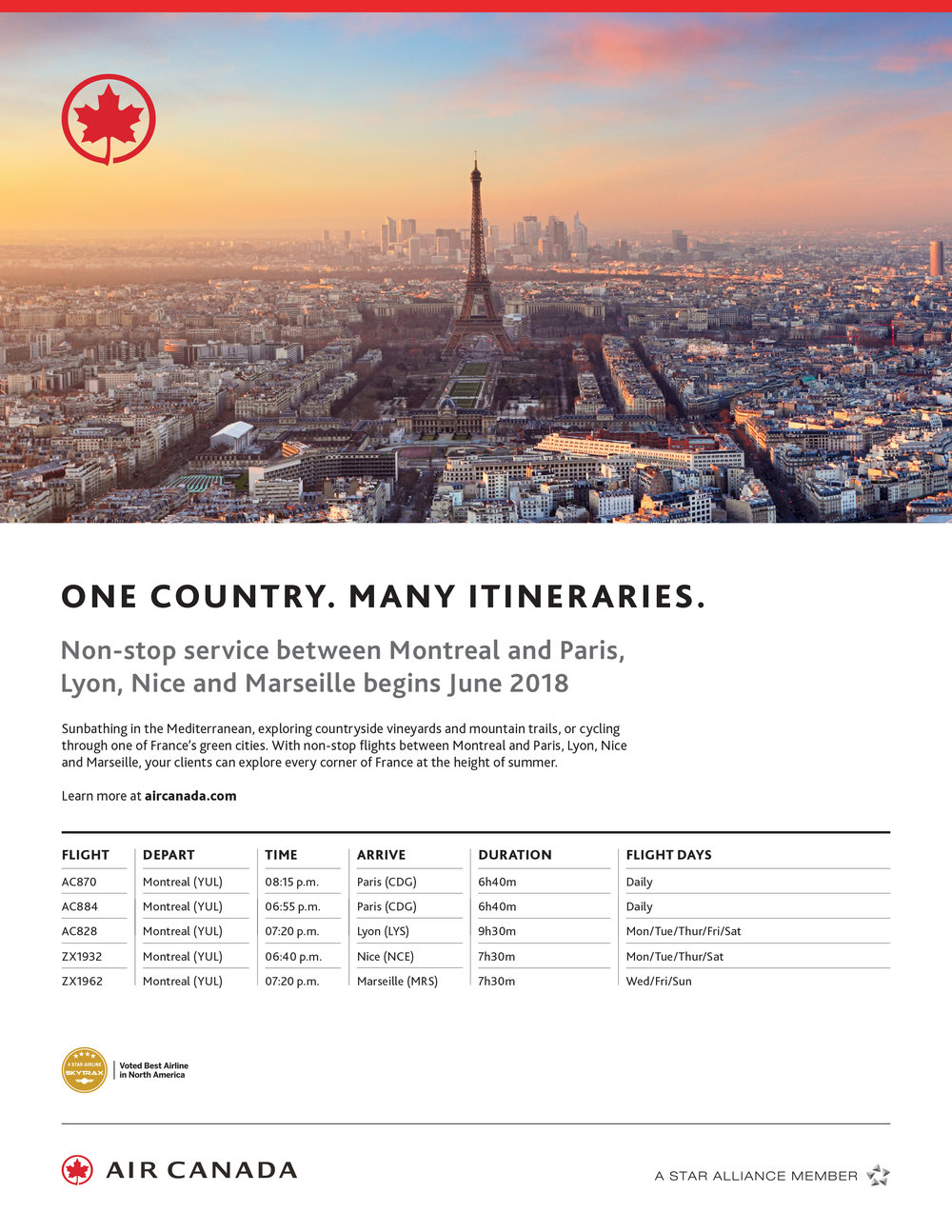 Air Canada Destination France from Montreal ad.jpg