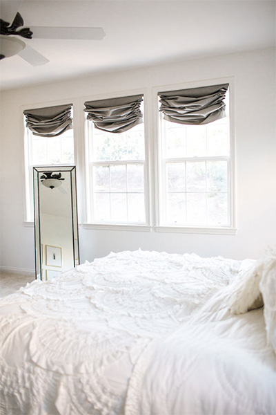 How to Beautify Your Windows With Custom Roman Shades — Inspire Me ...