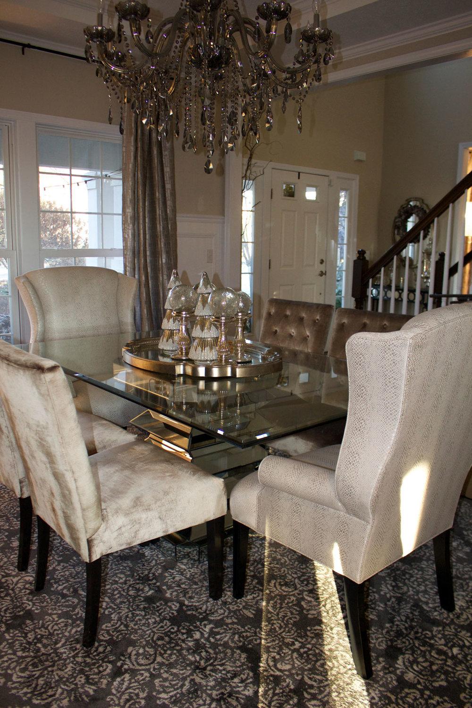 Farah Merhi Winter Wonderland, Dining Room