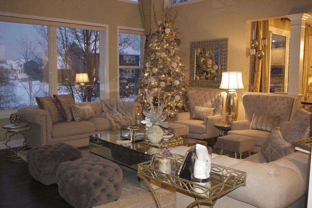 Farah Merhi Winter Wonderland, Living Room