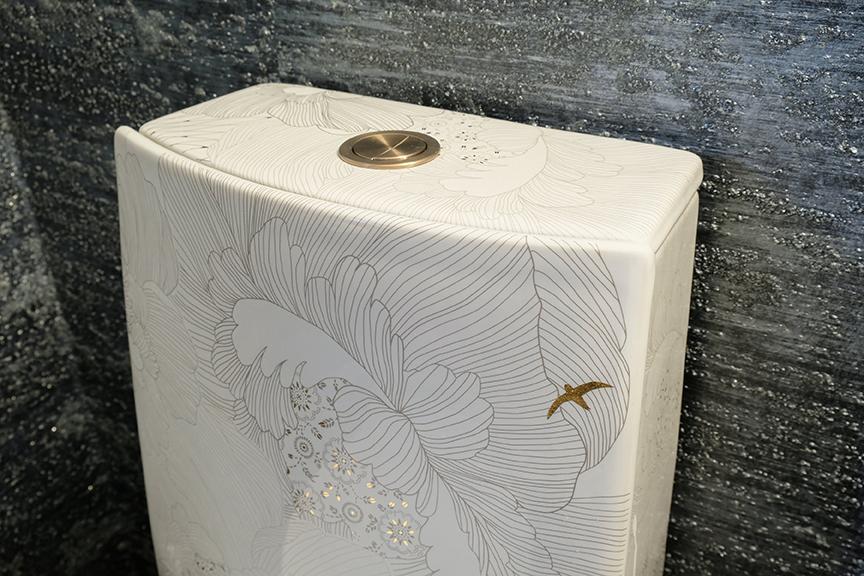 Farah Merhi Powder Room, Kohler Toilet
