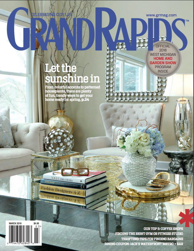 Grand Rapids Magazine Cover Farah Merhi